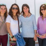 Dominica Gomara, Paulina Domingo, Andrea Barrientos y Daniela Ugarte