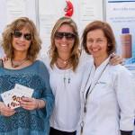 Mónica Bohmer, Carolina Cortés Monroy y Nicole Baumgartner