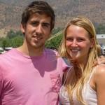 Raul Franco y Nicolle Peebles