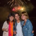 Lorena Flores, Constanza Undurraga y Silvia Torres