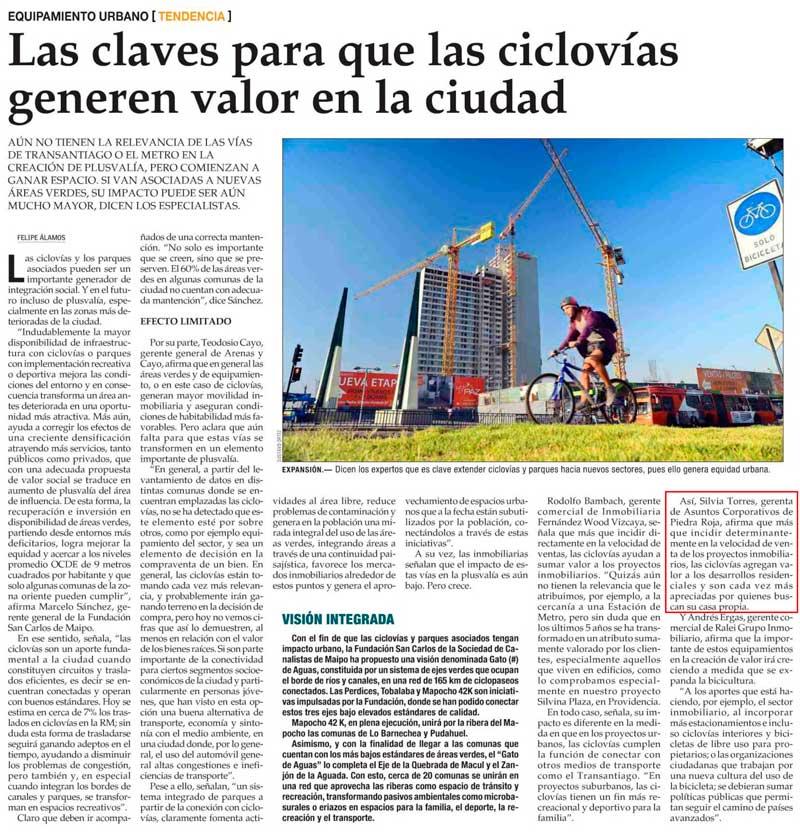 CiclovIas El Mercurio