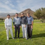 Rodolfo García, Cristián Nahum, Sergio Morales y Mario Aguilar