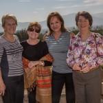 René Binder, Vivian Vicuña, Angela Zubiri y  Anita Jahn