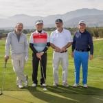 Lionel Preece, Darwin Opazo, Nicolas Rodillo y Fernando Paulsen