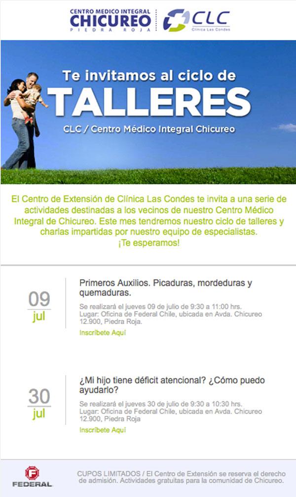 Ciclo-Talleres