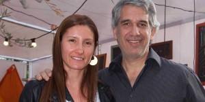 Sara Cárcamo y Daniel Franco