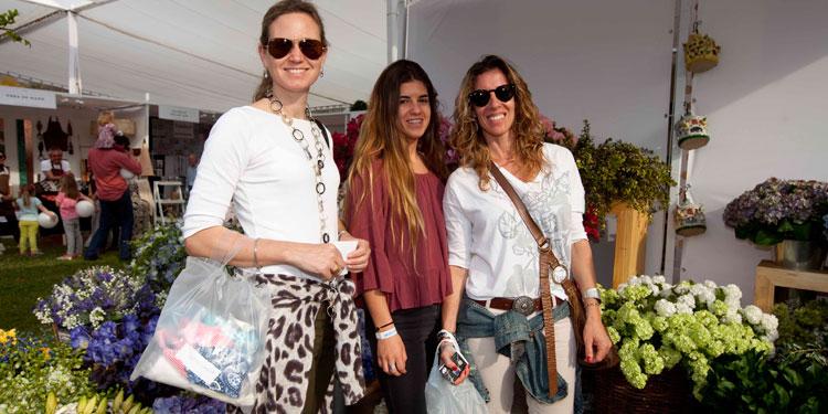 Marie Louis Hamel, Antonia Ingunza y María Jesús Bustamante