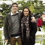Antonio Simonette y Natalia Huidobro