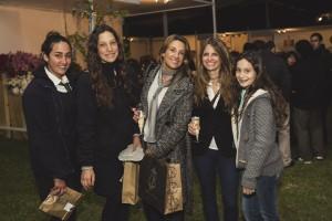 Daniela Vial, Blanca Walker, Karen Lichtenstern, Carola Undurraga y Elisa Walker