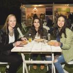 Josefina Albert, Magdalena Llambias y Paloma Magnani