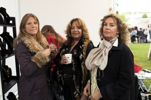 Marisol Vielma, Barbara Lyon y Alejandra Lyon