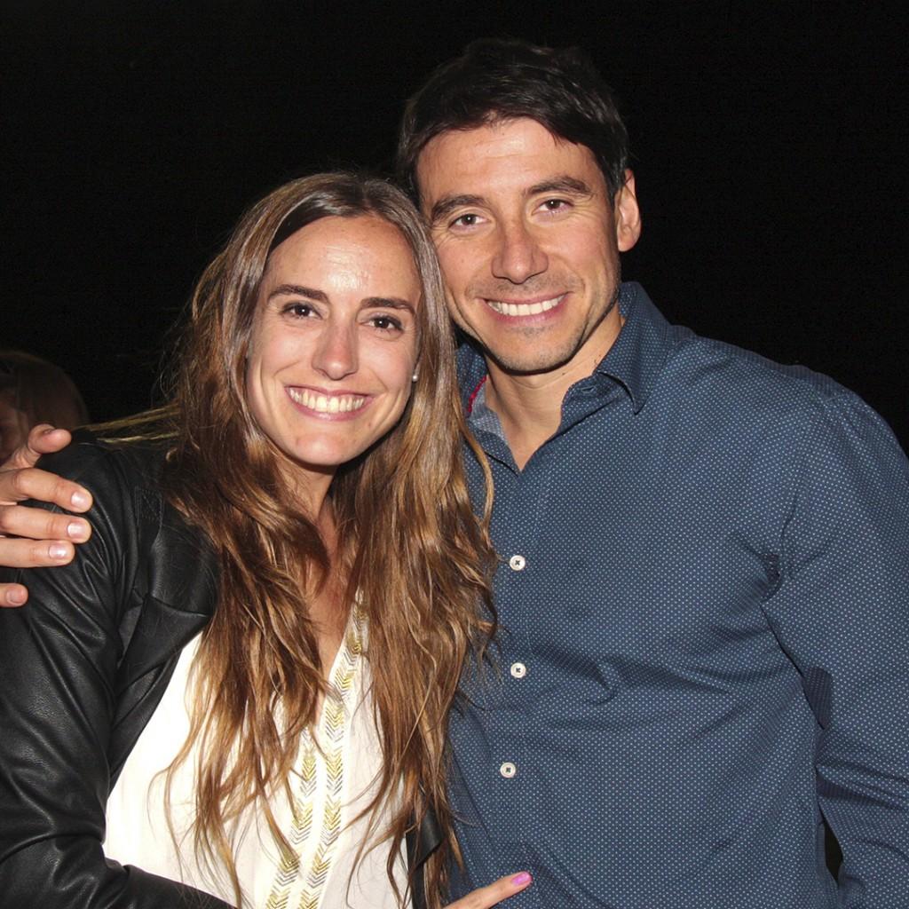 3. María José Amenabar y Sergio Iglesias