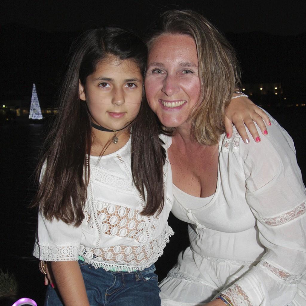 7. Francesca Persi y Carolina Arce