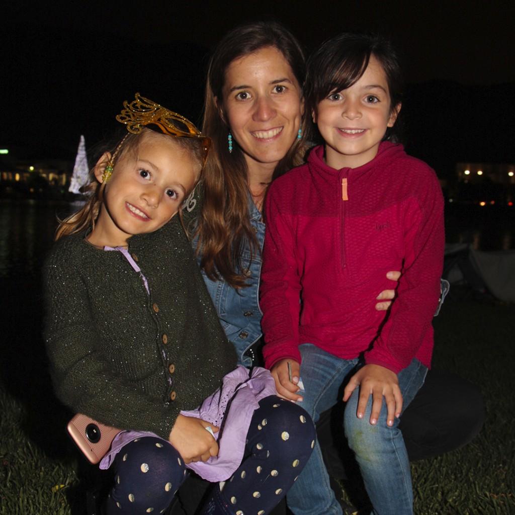 9. Isabel Gonzalez, Carolina Albertz y Rafaela Schulz