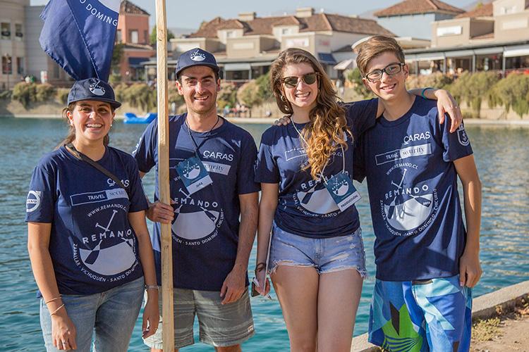 Foto 6 María Paz Ibáñez, Roberto Fischer, Valentina Echeverría y José Miguel Echeverría