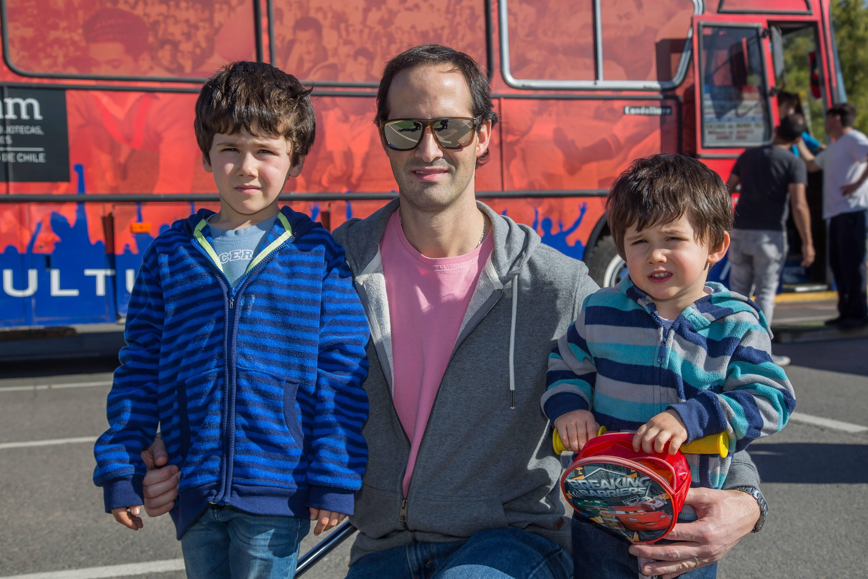 Foto 13 Alberto, Ernesto y Santiago Holzmann
