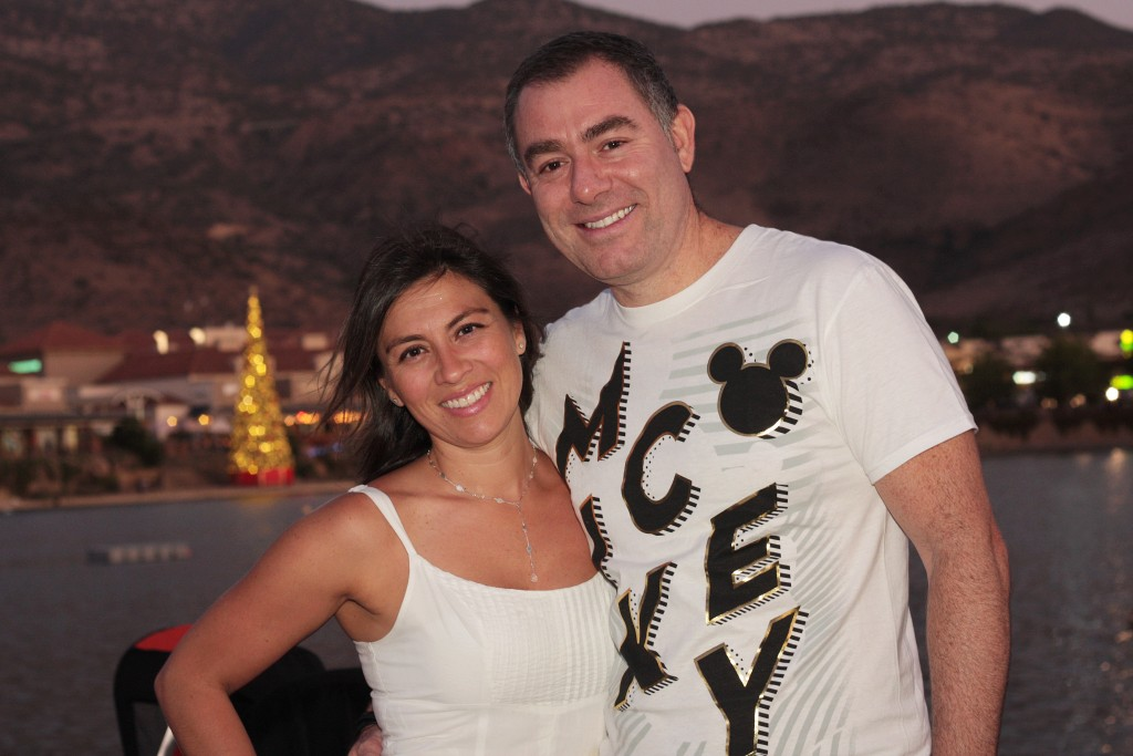 Foto 1 Carolina Allende y Claudio Rocha